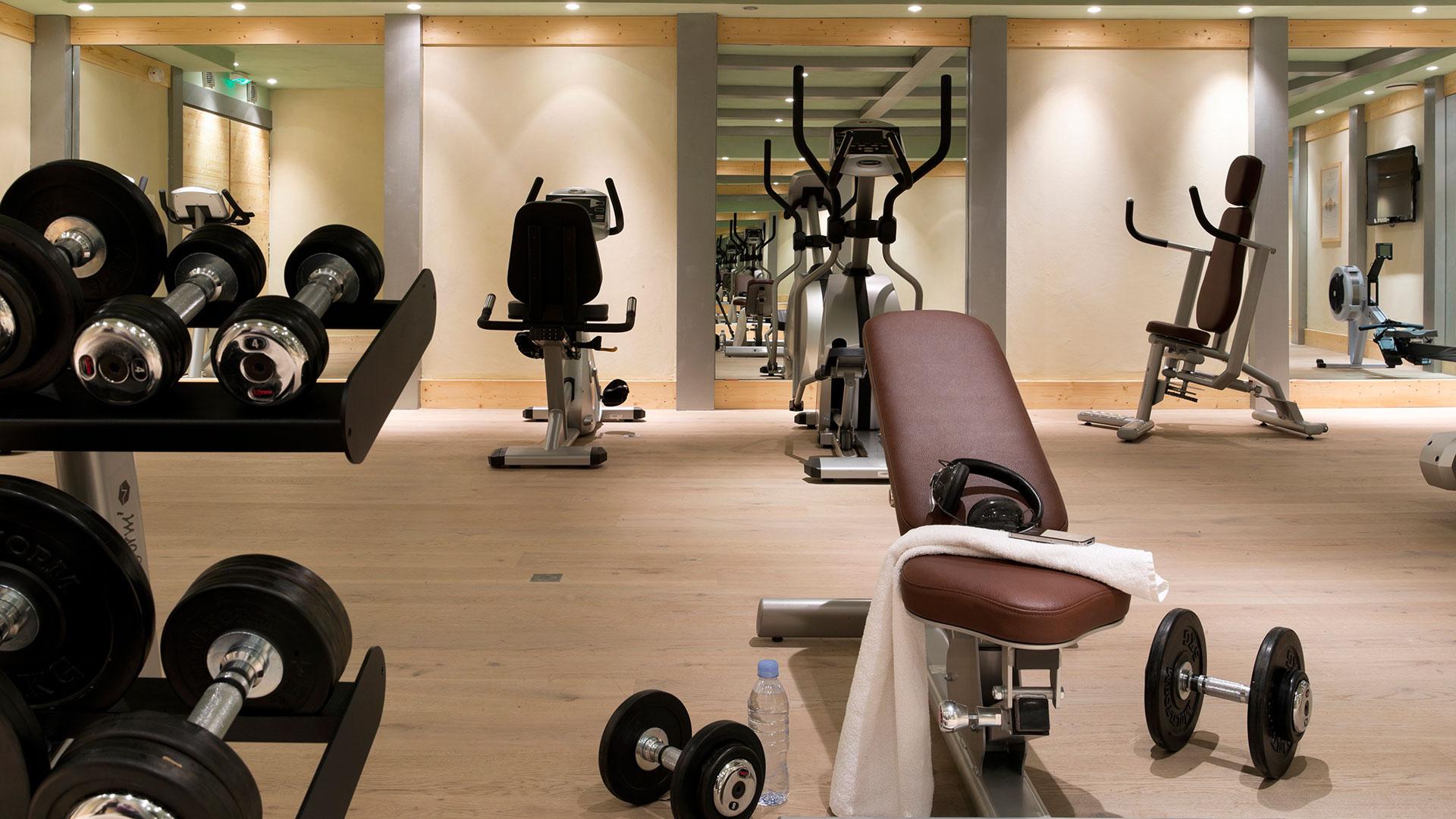 Salle de cardio-training