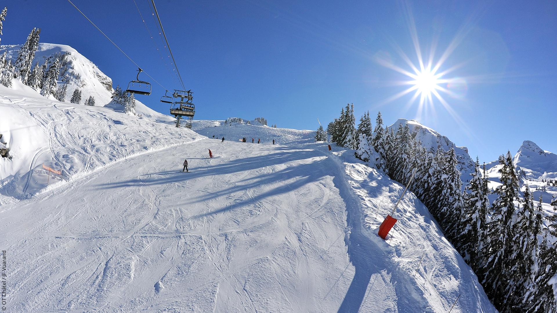Cgh r sidences location appartement ski les portes du - Domaine skiable les portes du soleil ...