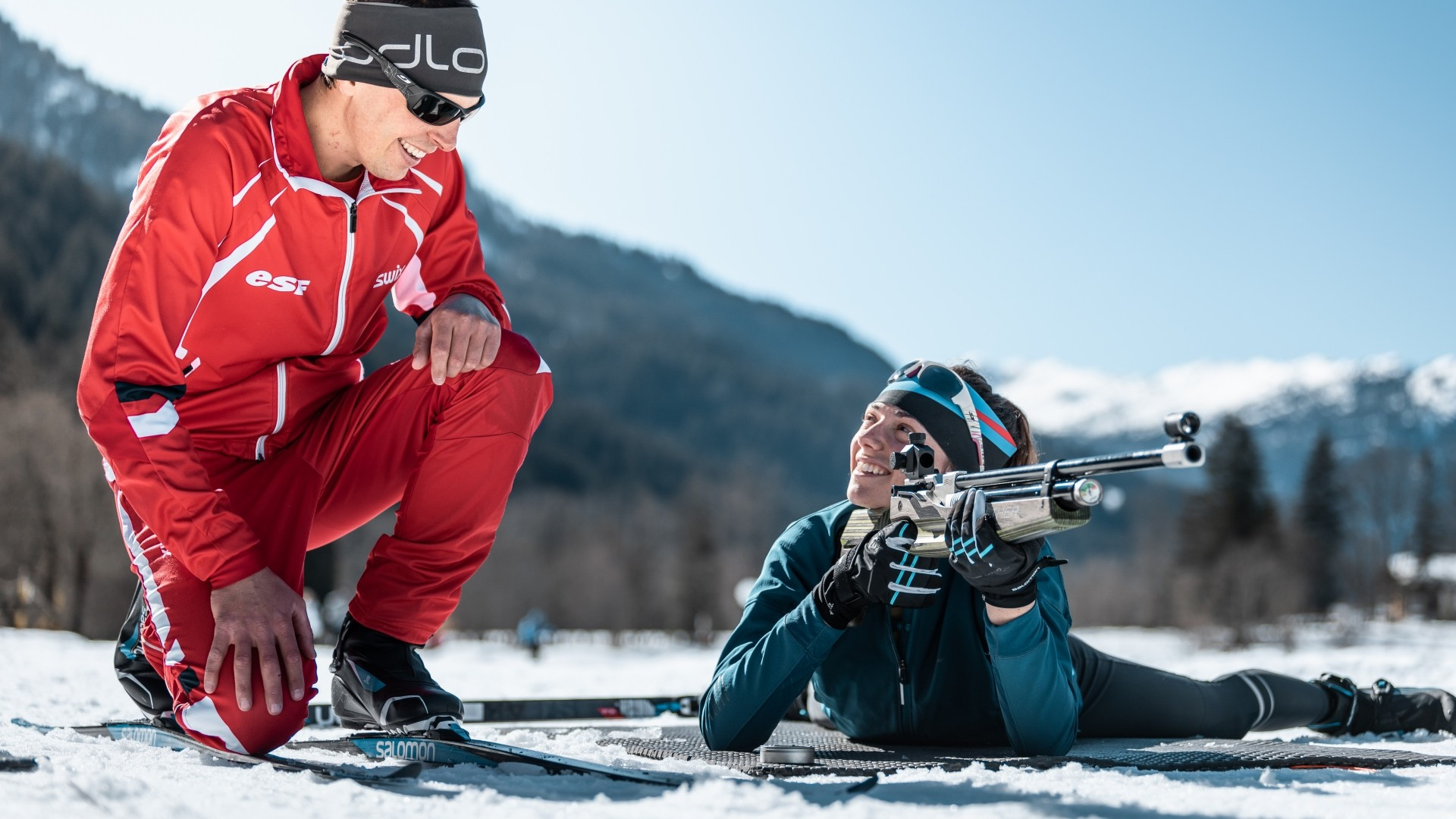 Défi Biathlon - Compétition ludique - CGH Résidences
