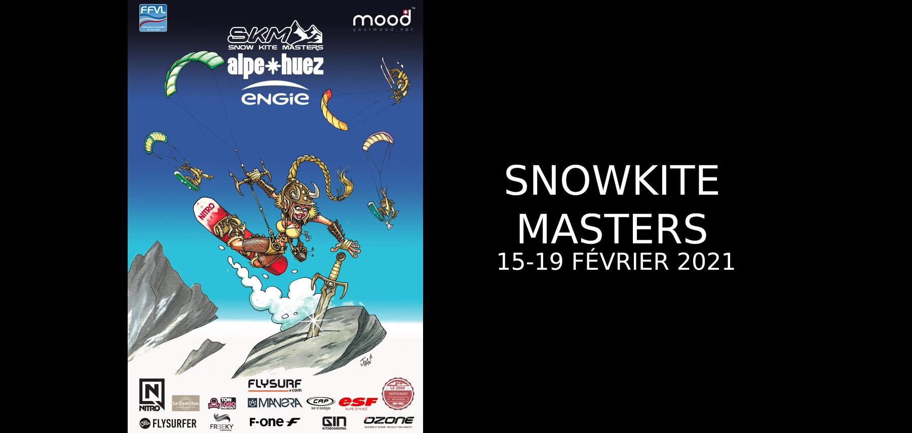 Snowkite Masters Alpe d