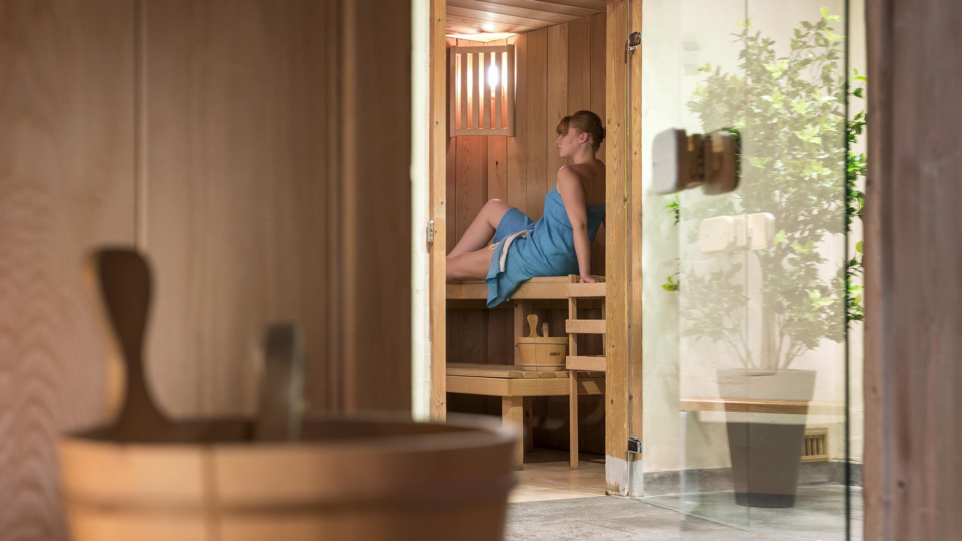 Sauna, Les Alpages de Champagny - CGH Résidences