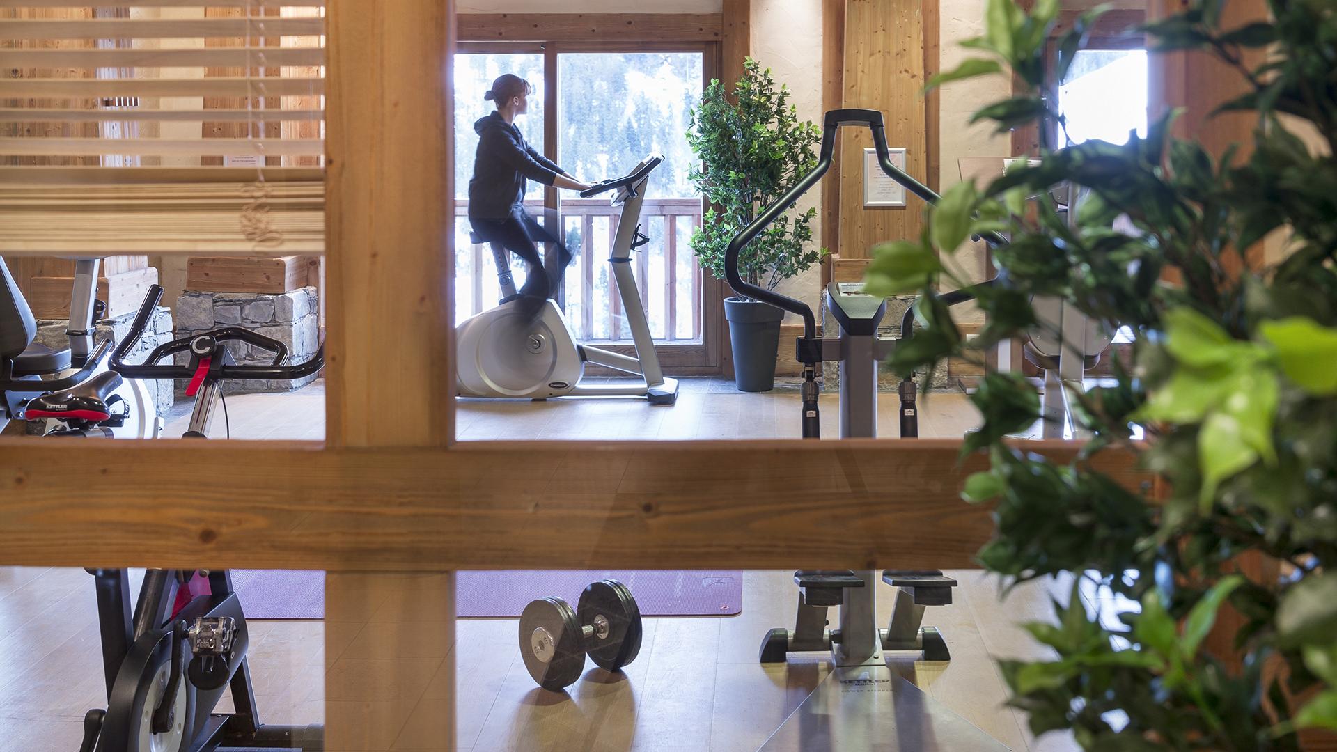 Salle de Cardio-training, Les Alpages de Champagny - CGH Résidences