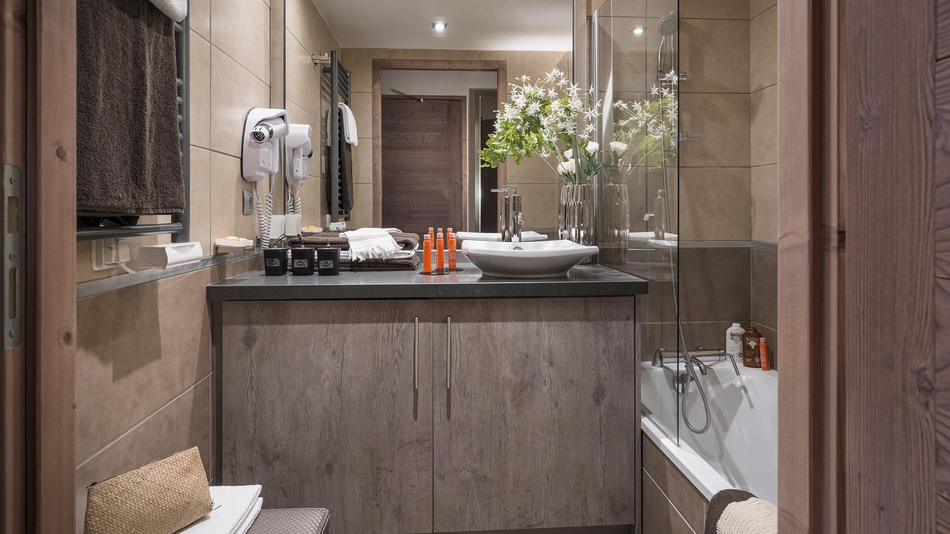 Salle de bain, Le Centaure - CGH Résidences