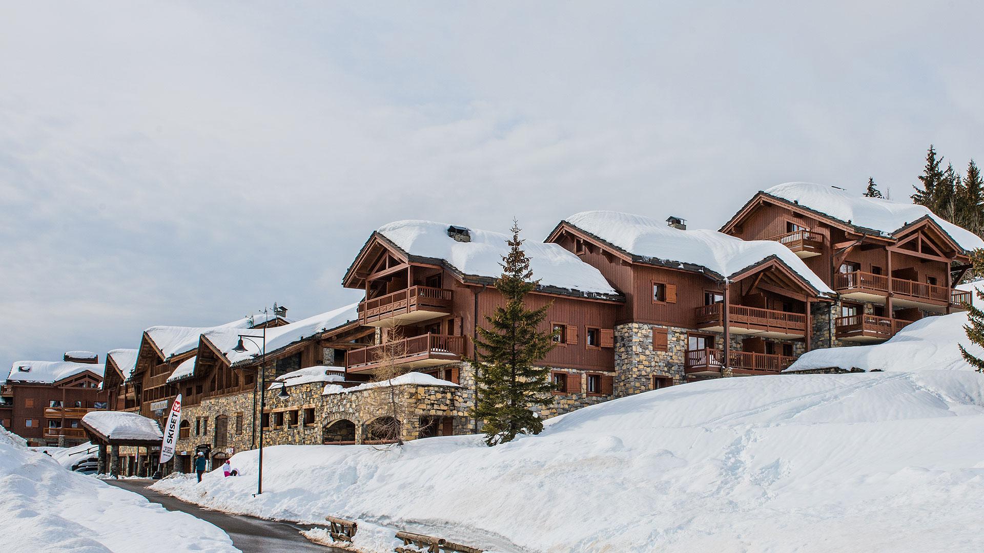 Extérieur hiver, Les Cimes Blanches - CGH Résidences