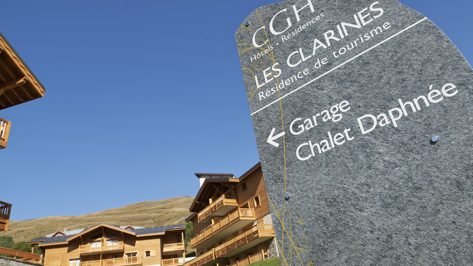 Extérieur été, Les Clarines - CGH Résidences