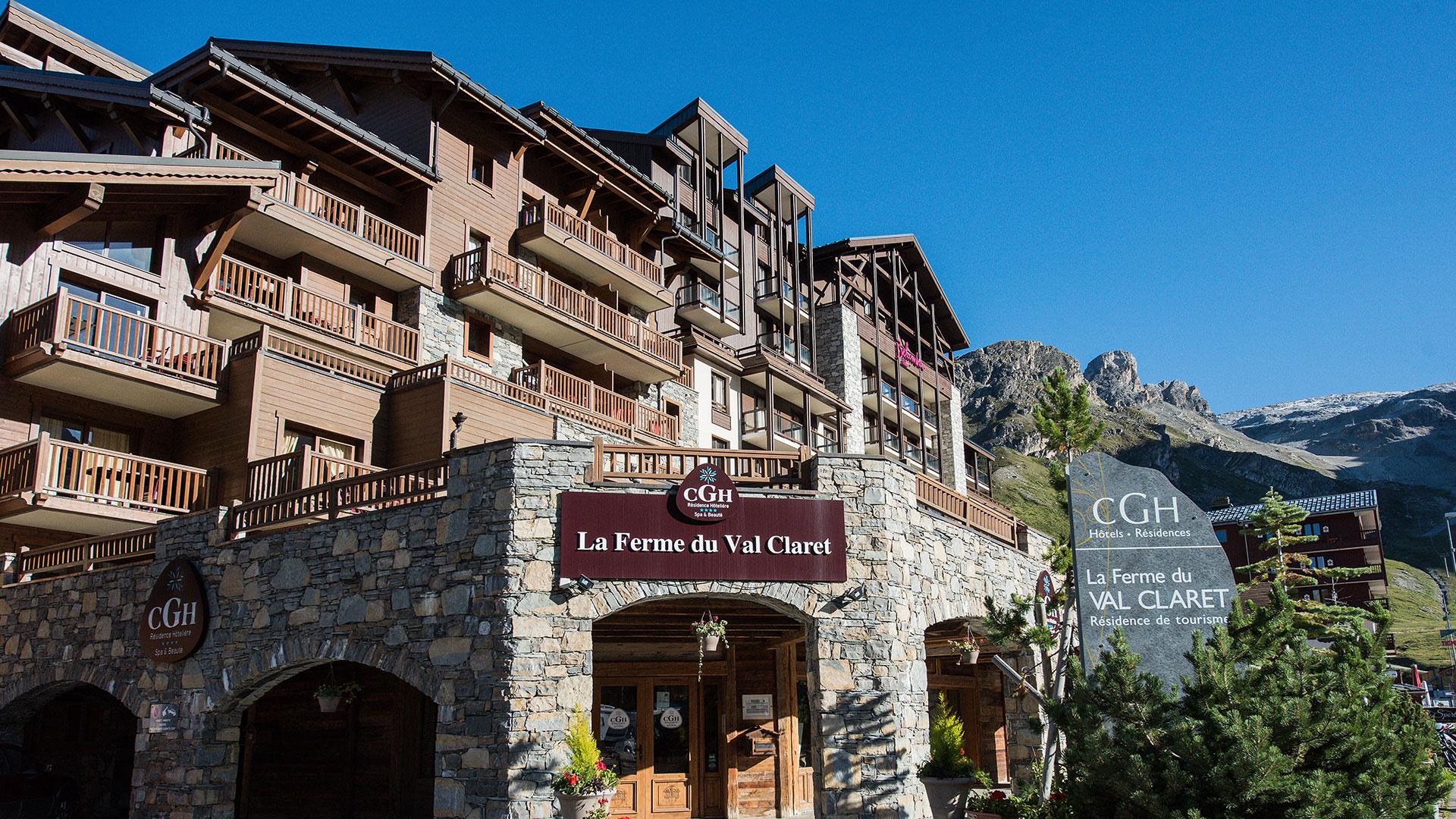 Extérieur été, La Ferme du Val Claret - CGH Résidences