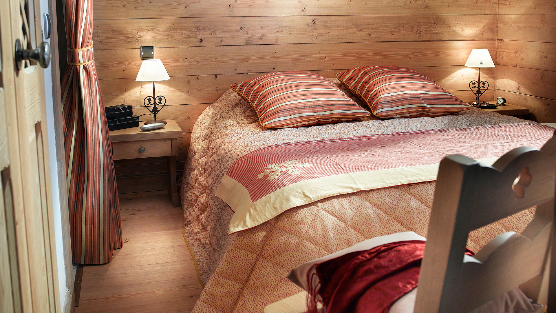 Chambre, La Ferme du Val Claret - CGH Résidences