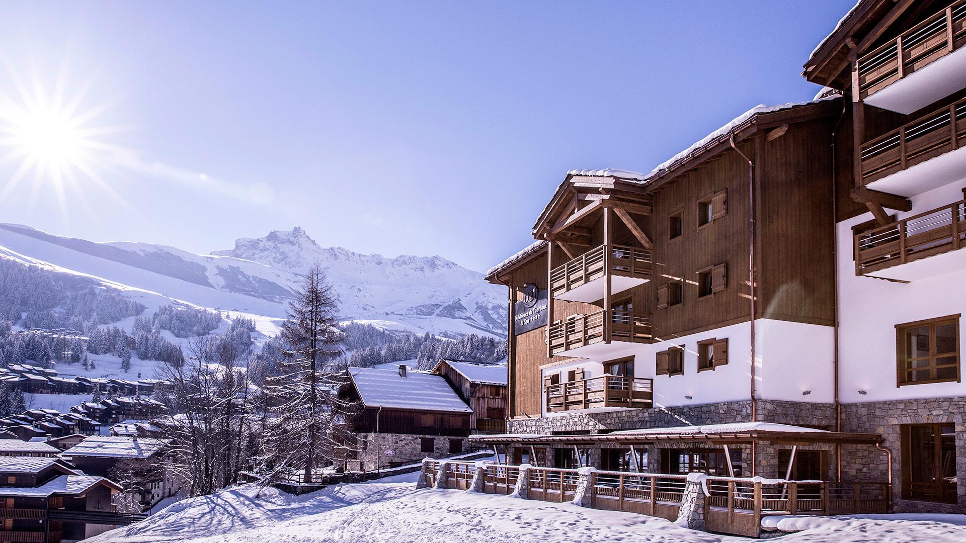 Extérieur hiver, La Grange aux Fées - CGH Résidences