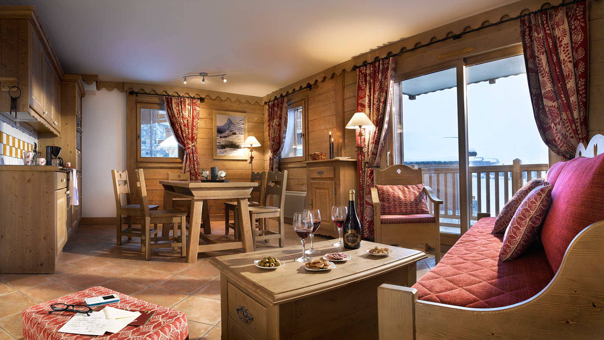 Appartement, Les Granges du Soleil - CGH Résidences