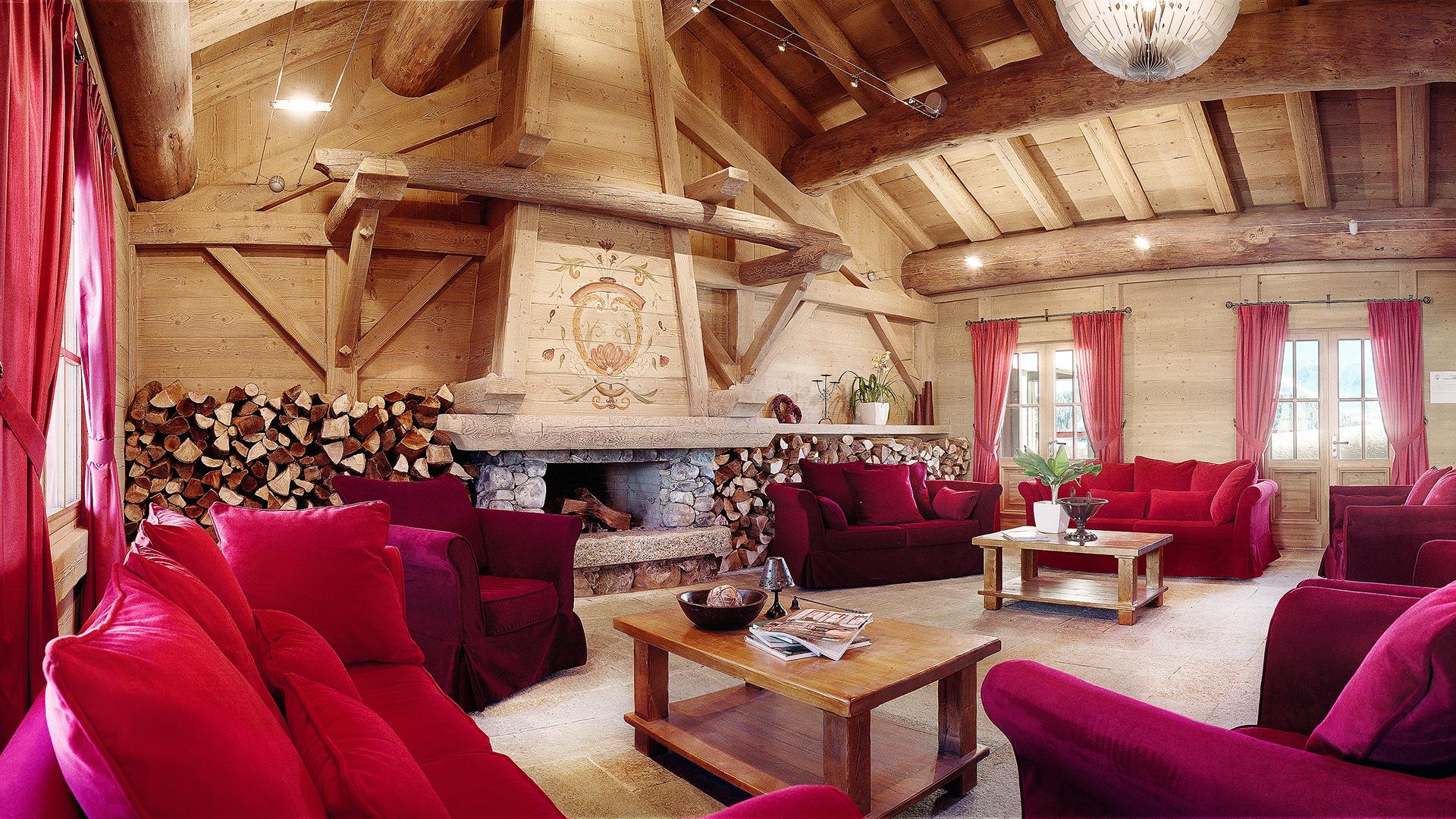 Réception, Le Hameau du Beaufortain - CGH Résidences