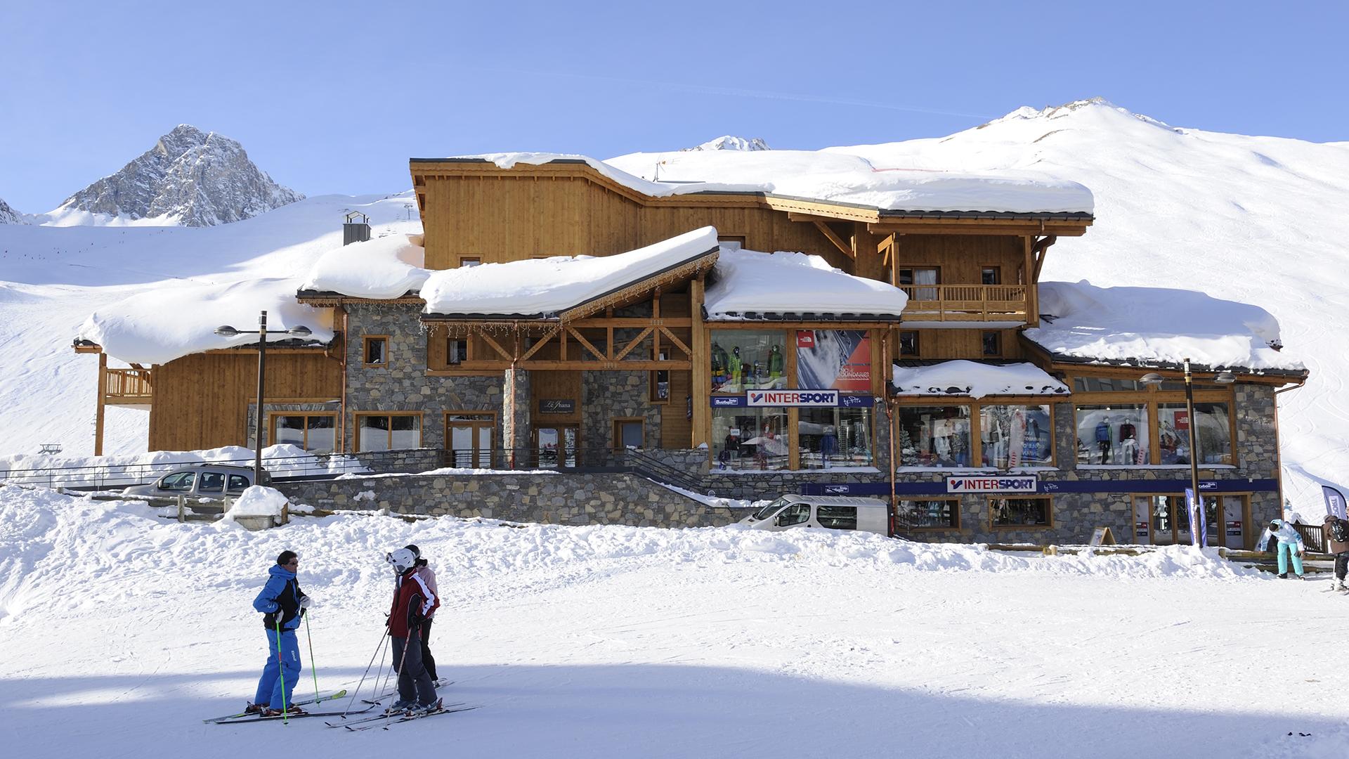 Extérieur hiver, Le Jhana - CGH Résidences