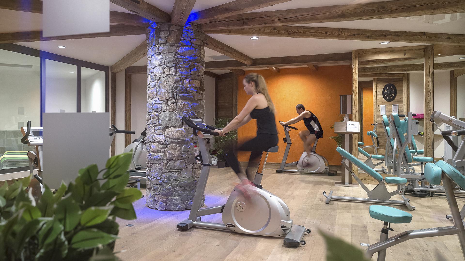 Salle de Cardio-training, Le Kalinda - CGH Résidences