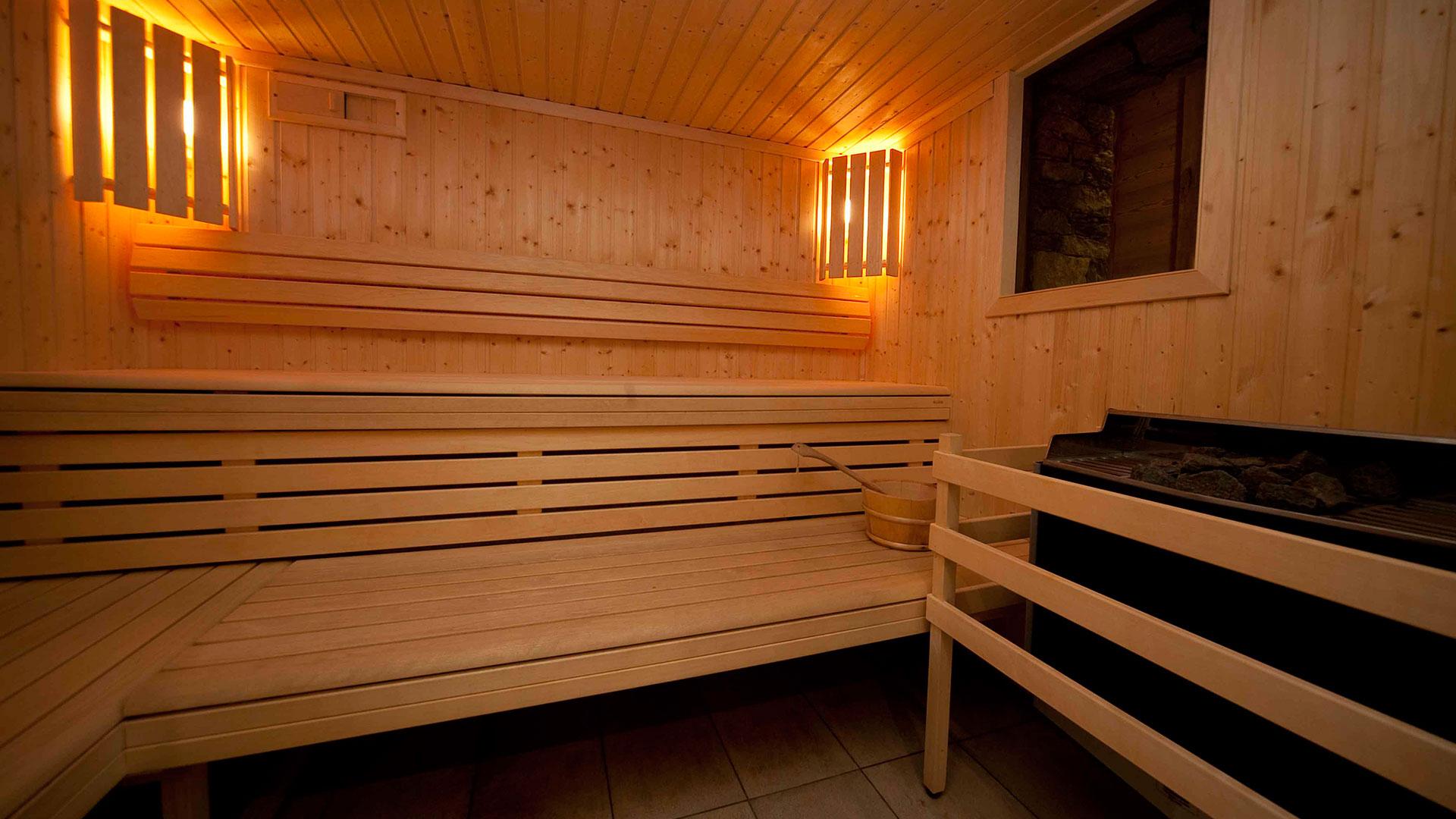 Sauna, Le Ruitor - CGH Résidences