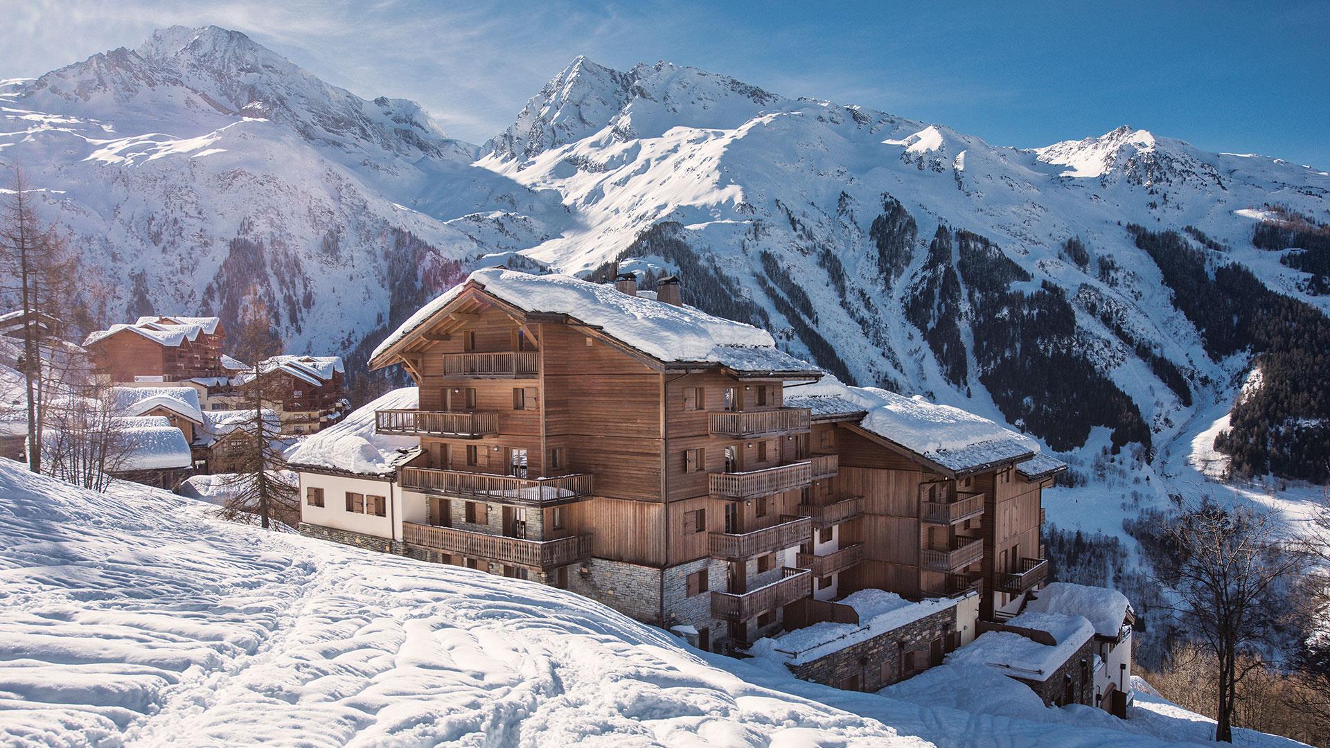 Extérieur hiver, Le Ruitor - CGH Résidences
