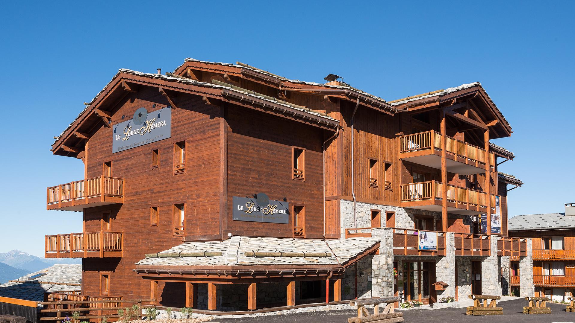 Extérieur été, Le Lodge Hemera - CGH Résidences