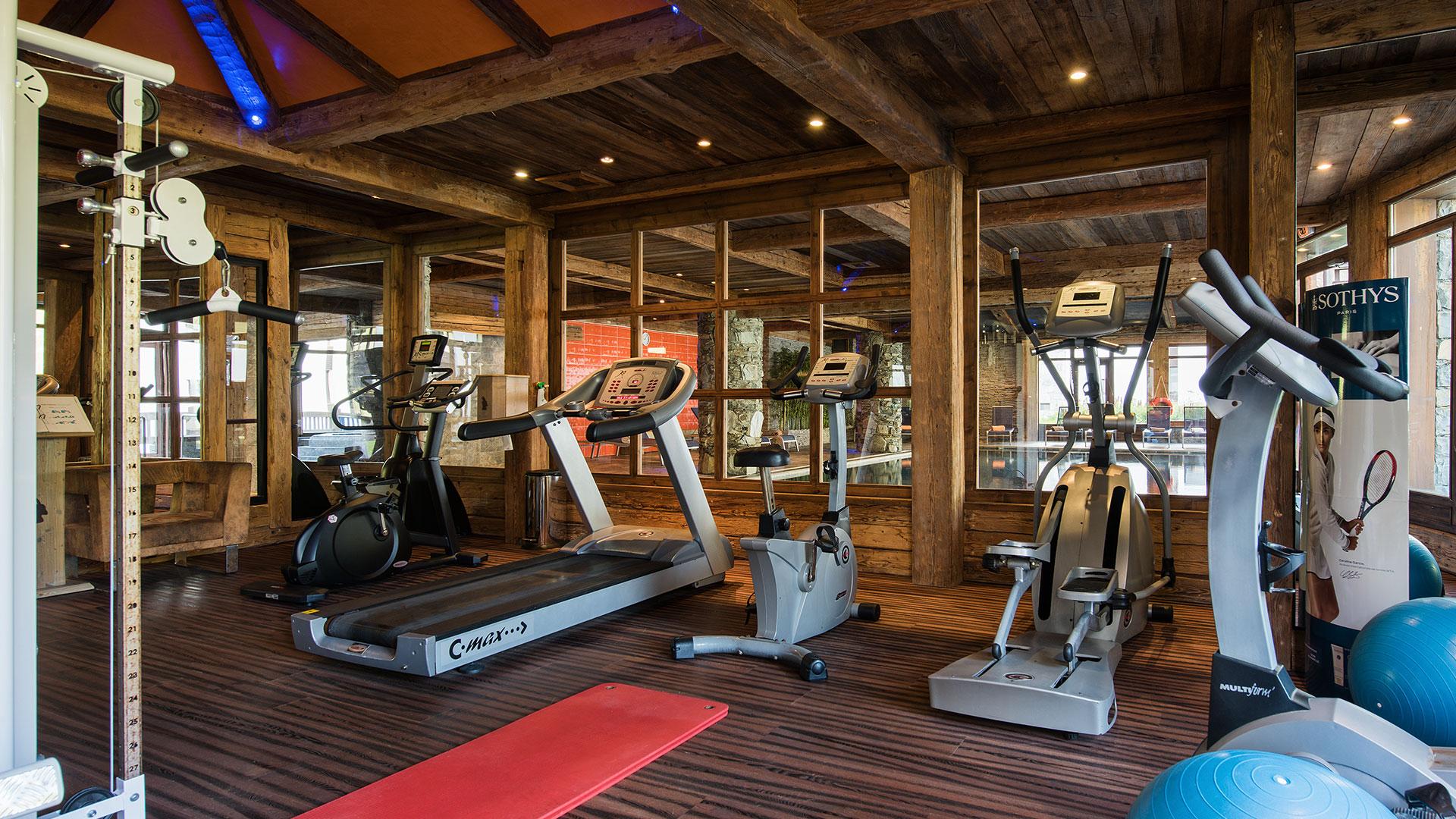 Salle Cardio-training, Le Nevada - CGH Résidences
