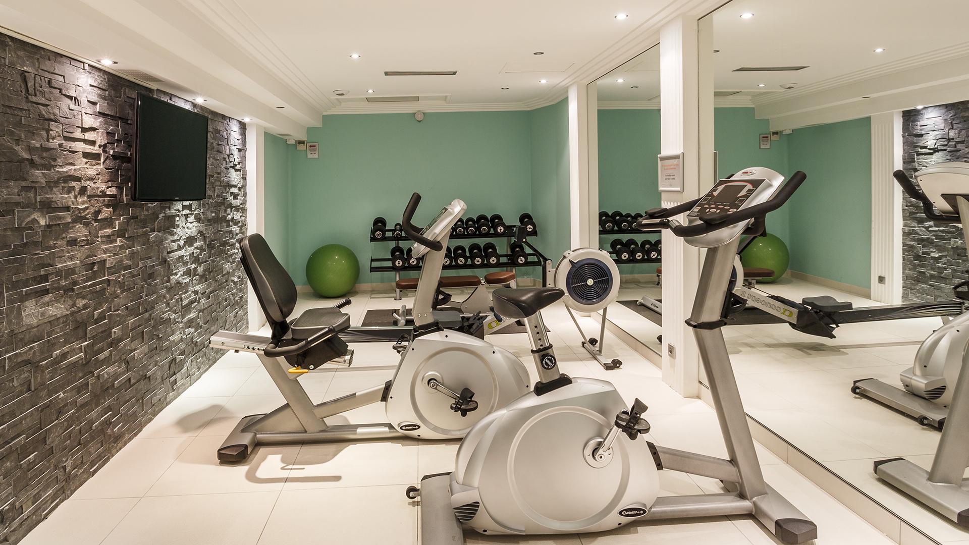 Salle Cardio Training, La Villa Romana - CGH Résidences